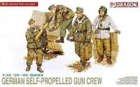 Model Kit figurky 6016 - GERMAN SELF-PROPELLED GUN CREW (1:35)