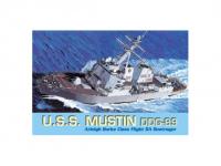 Model Kit loď 7044 - U.S.S. MUSTIN DDG-89 (1:700)