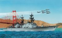 Model Kit loď 7084 - U.S.S. SPRUANCE DD-963 (PREMIUM EDITION) (1:700)