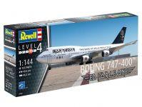 "Plastic ModelKit letadlo Limited Edition 04950 - Boeing 747-400 ""IRON MAIDEN"" (1:144)"