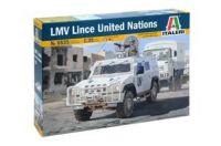 Model Kit military 6535 - LMV LINCE United Nations (1:35)