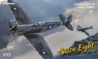 Eduard Aussie Eight DUAL COMBO 1/72 Spitfire Mk.VIII v australských službách, limitovaná edice Plastikové modely