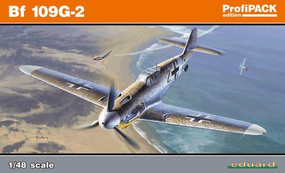 Eduard Bf 109G-2 1/48 Profipack Plastikové modely