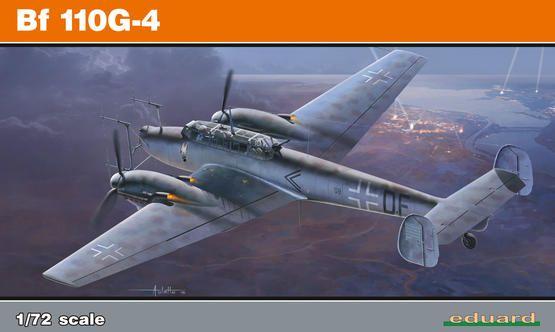 Eduard Bf 110G-4 1/72 Profipack Plastikové modely