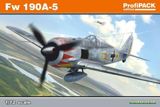 Eduard Fw 190A-5 1/72 Profipack Plastikové modely