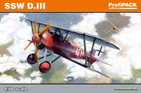 Eduard SSW D. III (reedition) 1/48 Profipack