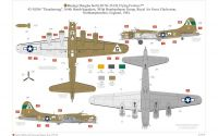Classic Kit diorama A12010 - Eighth Air Force: Boeing B-17G™ & Bomber Re-supply Set (1:72) Plastikové modely