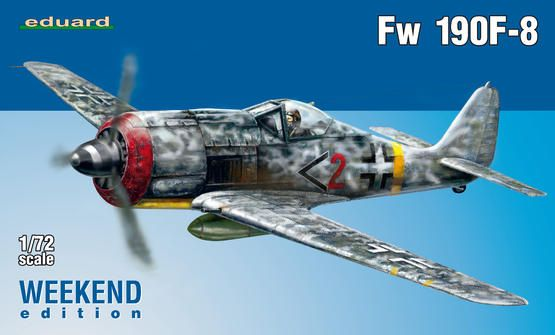 Eduard Fw 190F-8 1:72 Plastikové modely