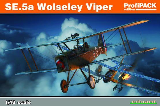 Eduard SE.5a Wolseley Viper 1:48 Plastikové modely