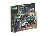 "ModelSet auto 67035 - VW Beetle ""Police"" (1:24)"