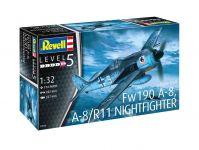 Plastic ModelKit letadlo 03926 - Focke Wulf Fw190A-8, A-8/R11 Nightfighter (1:32)
