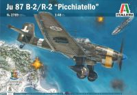 """Model Kit letadlo 2769 - JU 87 B-2/R-2 """"PICCHIATELLO"""" (1:48)"""