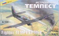 Model Kit letadlo 7222 - Fighter TEMPEST MkV (1:72)