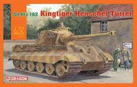 Model Kit tank 7558 - Sd.Kfz.182 Kingtiger Henschel Turret (1:72)