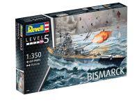 Plastic ModelKit loď 05040 - Battleship BISMARCK (1:350) Plastikové modely