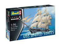 Plastic ModelKit loď 05606 - USS United States (1:96)
