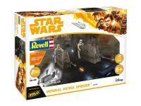 Build & Play SW 06768 - Imperial Patrol Speeder (1:28)