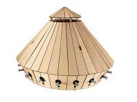 Leonardo edice 00511 - Obrněný transportér - dřevěná stavebnice (1:24)
