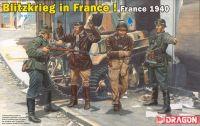 Model Kit figurky 6478 - Blitzkrieg in France! (France 1940) (1:35)