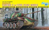 Model Kit tank 6370 - PANTHER G W/STEEL ROAD WHEEL (1:35)