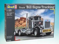 "Plastic ModelKit auto 07522 - Truck ""Bill Sign Trucking"" (1:25)"