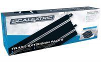 Rozšíření trati SCALEXTRIC C8554 - Track Extension Pack 5 - 8 X C8205 Straights