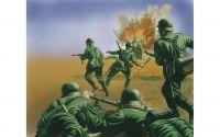 Classic Kit figurky A00705 - WWII German Infantry (1:72) Plastikové modely