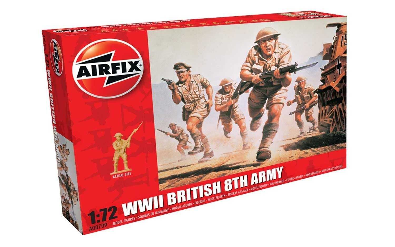 Classic Kit figurky A00709 - WWII British 8th Army (1:72) Plastikové modely