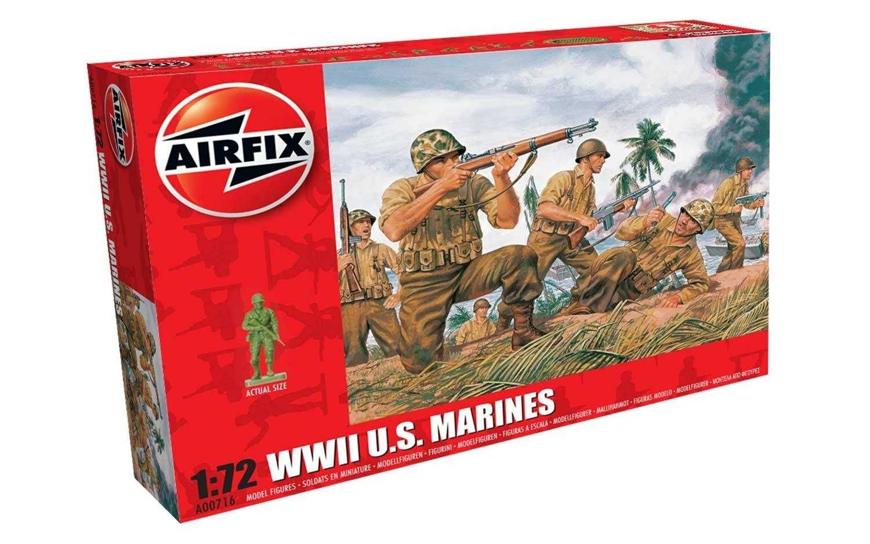 Classic Kit figurky A00716 - WWII US Marines (1:72) Plastikové modely