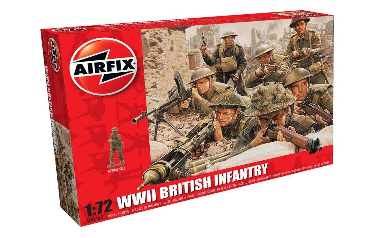 Classic Kit figurky A00763 - WWII British Infantry (1:72) Plastikové modely