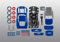Junior Kit auto 00863 - Cars 3 - The Fabulous Lightning McQueen (světelné a zvukové efekty) (1:20) Plastikové modely