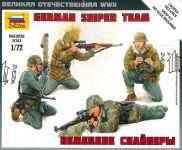 Model Kit figurky 6217 - German Sniper Team (1:72)