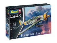 Plastic ModelKit letadlo 03898 - Focke Wulf Fw190 F-8 (1:72)