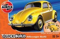 Quick Build auto J6023 - VW Beetle - žlutá Plastikové modely
