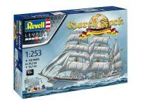 Gift-Set loď 05695 - GORCH FOCK - 60th Anniversary (1:253)