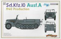 Model Kit military 6630 - Sd.Kfz.10 Ausf.A 1940 PRODUCTION (SMART KIT) (1:35)