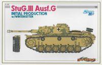 Model Kit tank 6598 - StuG.III Ausf.G INITIAL PRODUCTION w/WINTERKETTEN (SMART KIT) (1:35)