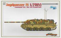 Model Kit tank 6623 - JAGDPANZER IV L/70(V) COMMAND VERSION NOV 44 PRODUCTION (SMART KIT) (1:35)