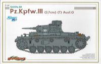 Model Kit tank 6765 - Pz.Kpfw.III (3.7cm) (T) Ausf.G (SMART KIT) (1:35)