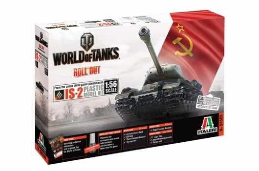 Model Kit World of Tanks 56506 - JOSEF STALIN JS-2 (1:56) Plastikové modely