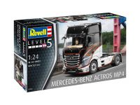 Plastic ModelKit auto 07439 - Mercedes-Benz Actros MP4 (1:24)
