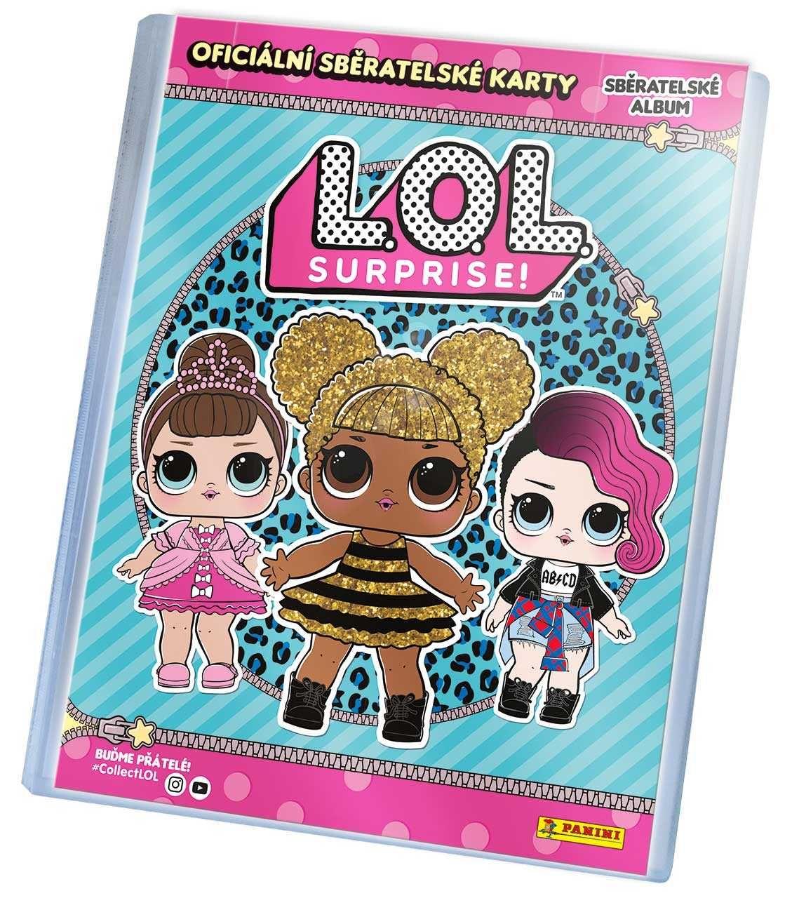 L.O.L. Surprise! - binder Plastikové modely