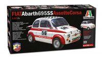 Model Kit auto 4705 - FIAT Abarth 695SS/Assetto Corsa (1:12)