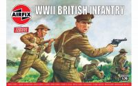 Classic Kit VINTAGE figurky A00763V - WWII British Infantry (1:76)