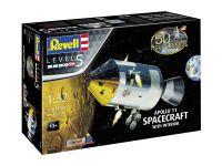 Gift-Set 03703 - Apollo 11 Spacecraft with Interior (50 Years Moon Landing) (1:32)