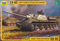 Model Kit military 3690 - SU-85 Soviet Tank Destroyer (1:35)