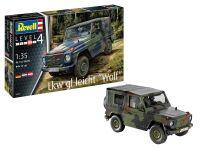 "Plastic ModelKit military 03277 - Lkw gl leicht ""Wolf"" (1:35) Plastikové modely"