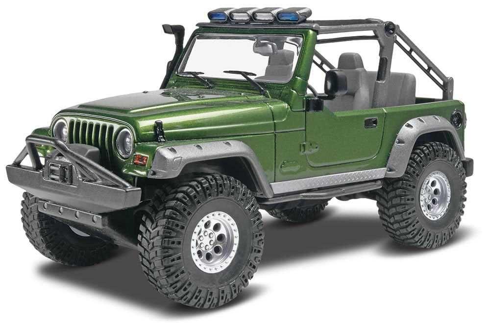 Plastic ModelKit MONOGRAM auto 4053 - Jeep® Wrangler Rubicon (1:25) Plastikové modely