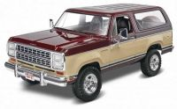 Plastic ModelKit MONOGRAM auto 4372 - 1980 Dodge® Ramcharger (1:24)