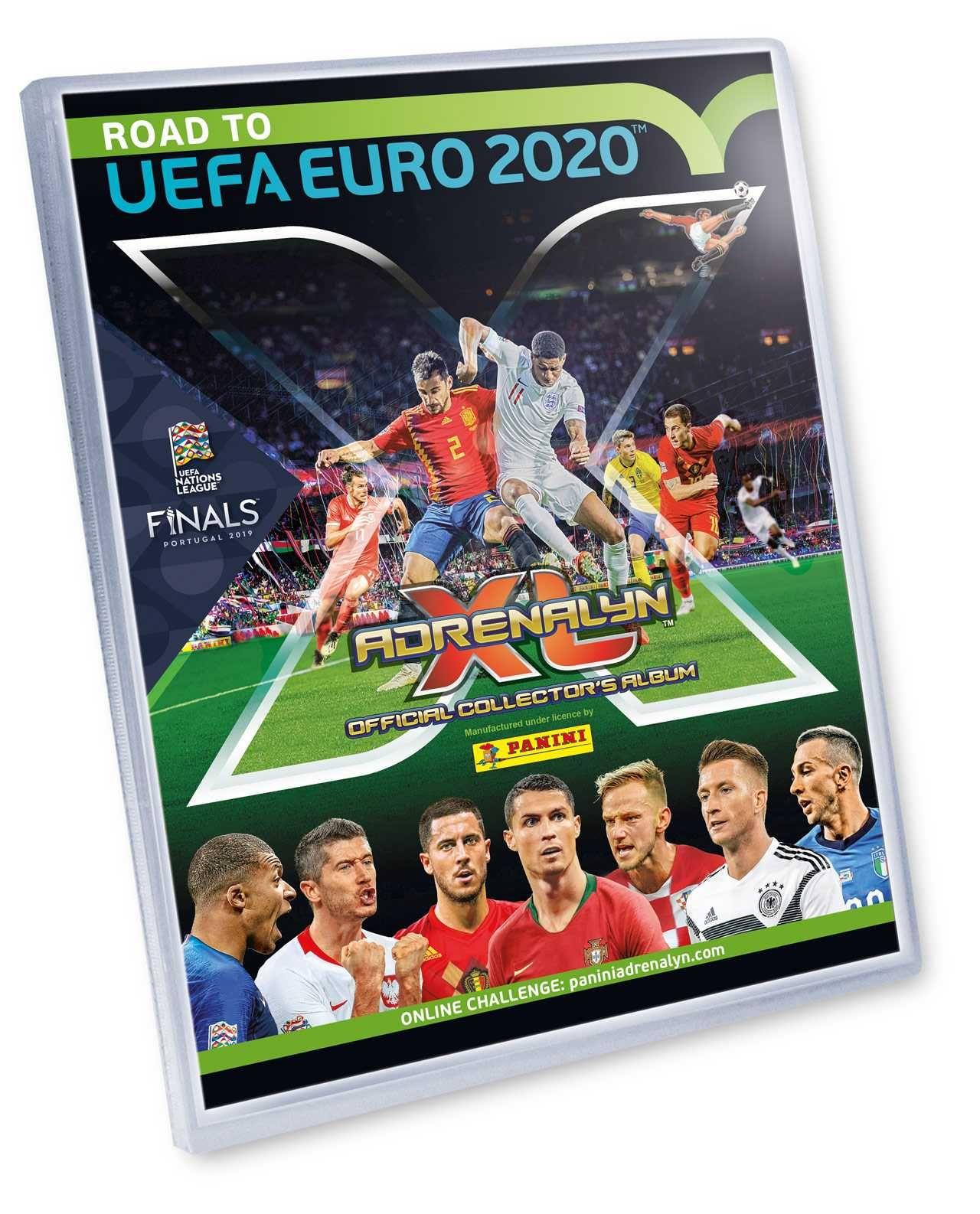 ROAD TO EURO 2020 - ADRENALYN - binder Plastikové modely